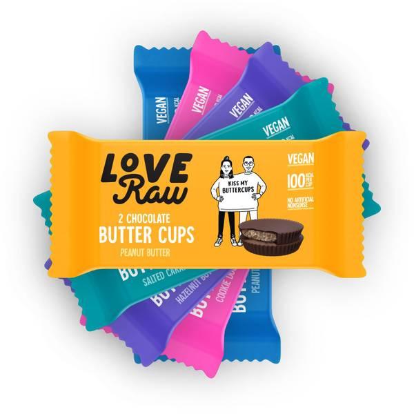 Bilde av LoveRaw ButterCups - Smakspakke 5stk