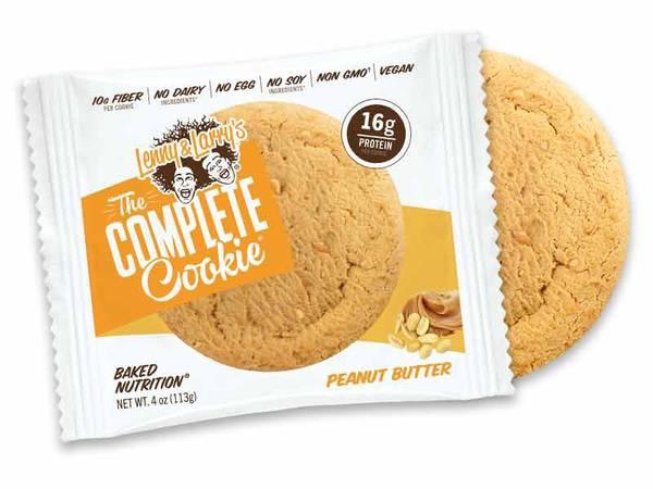 Bilde av Lenny & Larry`s Complete Cookies - Peanut Butter (12x113g)