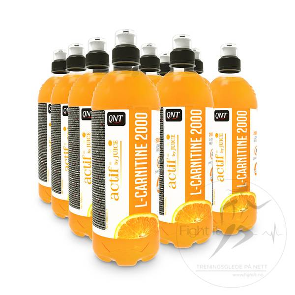 Bilde av QNT - Actif L-Carnitine 2000 - Orange 700ml