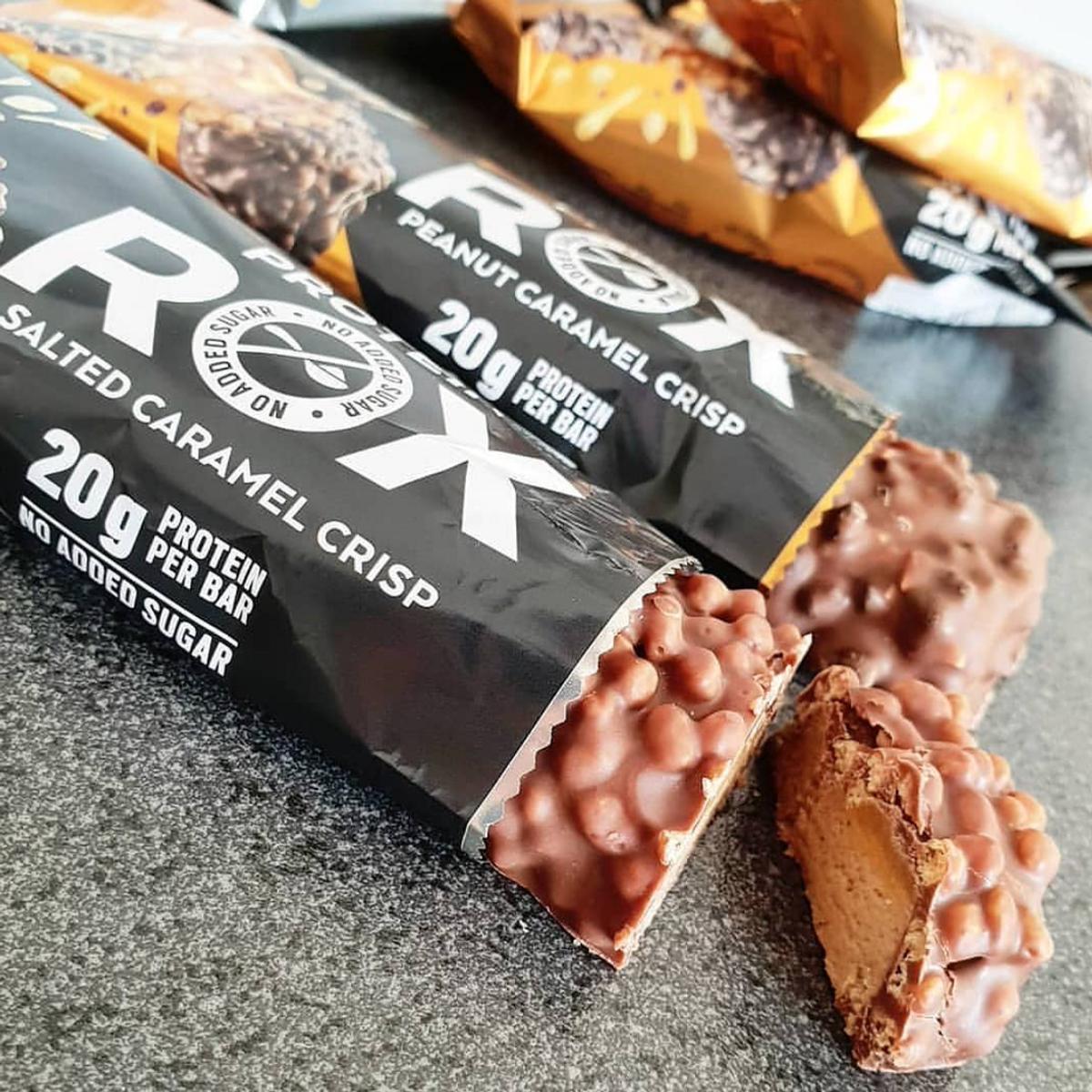 FAST - Rox Proteinbar - Salted Caramel Choco Crisp 55g