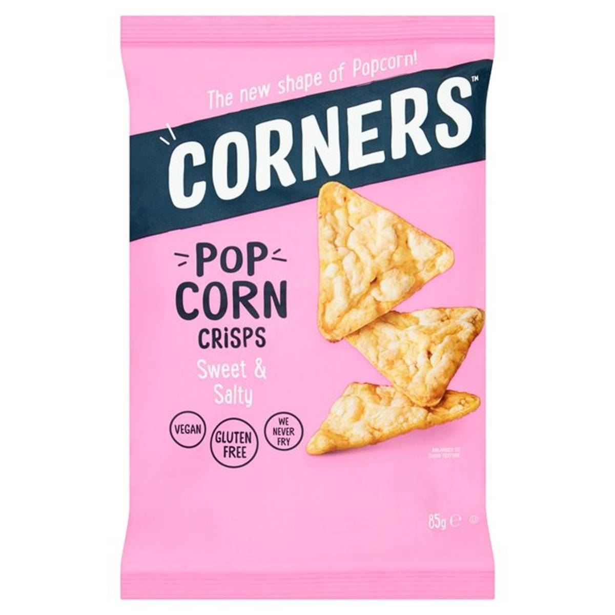 Corners - Pop Protein Crisps - Cheese & Onion 28g