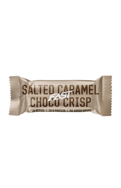 Bilde av FAST - Rox Proteinbar - Salted Caramel Choco Crisp 55g