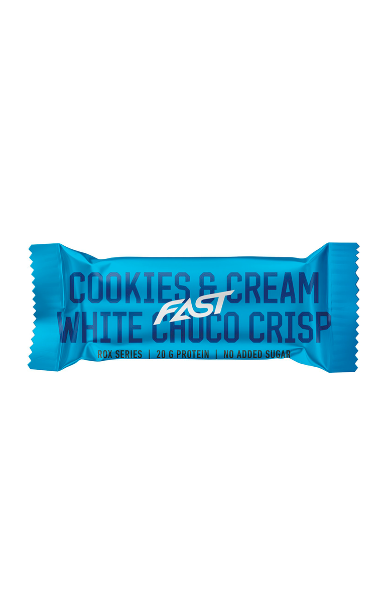 FAST - Rox Proteinbar - Cookies & Cream White Choco Crisp 55g