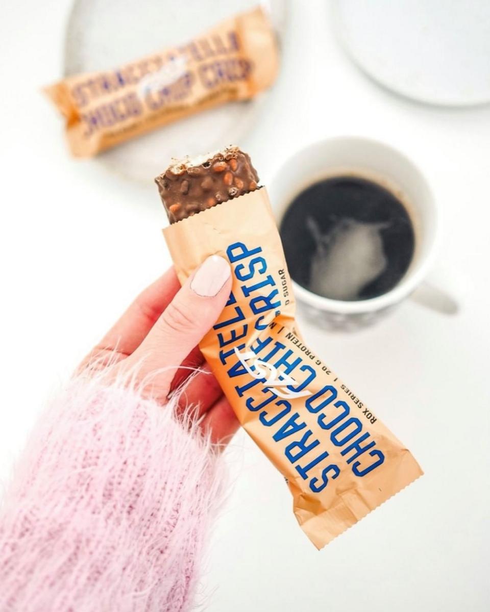 FAST - Rox Proteinbar - Stracciatella Choco Chip Crisp 55g