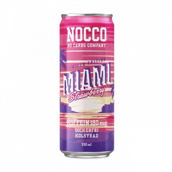 Bilde av Nocco BCAA - Miami Strawberry LTD 330ml