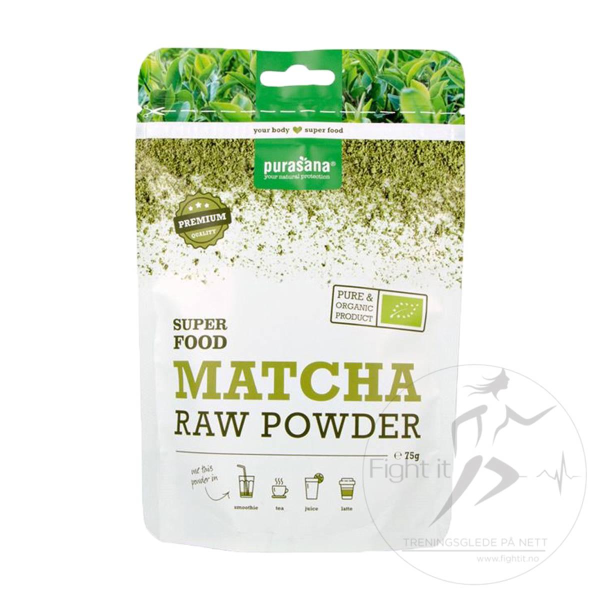 Purasana - Matcha RAW Powder 75g