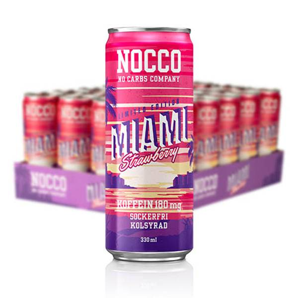 Bilde av Nocco BCAA - Miami Summer LTD (24 x 330ml)