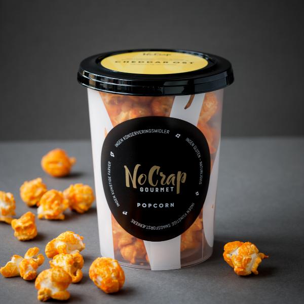 Bilde av NoCrap - Gourmet Popcorn Cheddar Cheese 40g