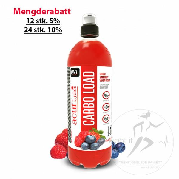 Bilde av QNT - Actif Carbo Load - Superfruit 700ml