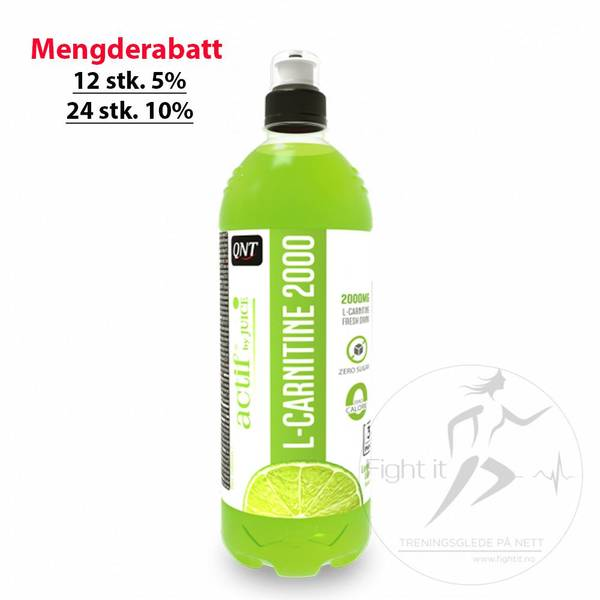 Bilde av QNT - Actif L-Carnitine 2000 - Lemon Lime 700ml
