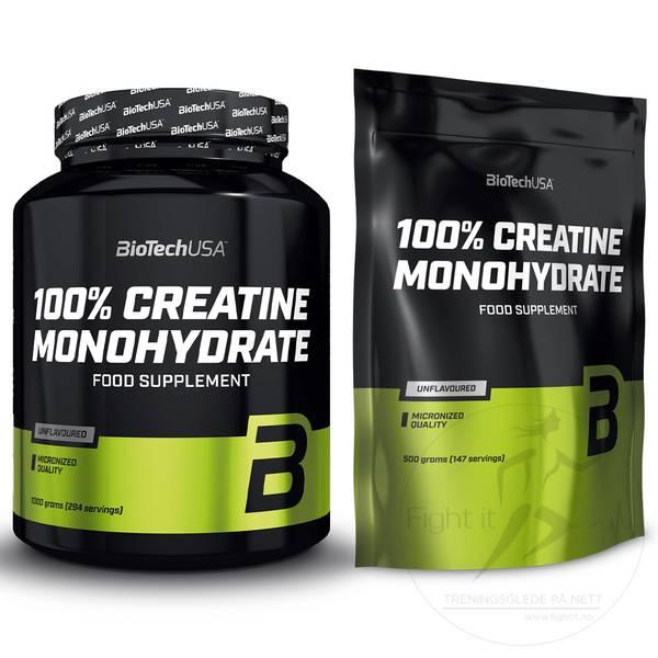 Bilde av BioTechUSA - 100% Creatine Monohydrat 1000g