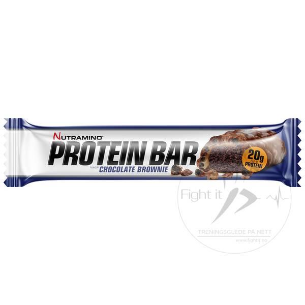 Bilde av Nutramino Proteinbar - Crispy Chocolate Brownie (12x64g)