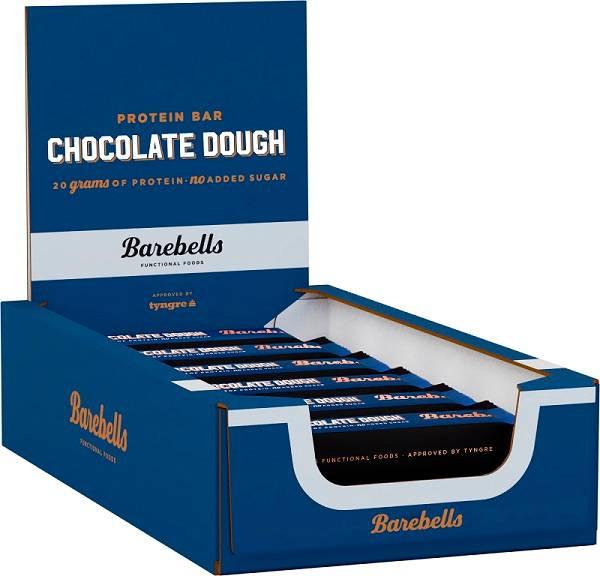 Bilde av Barebells - Chocolate Dough (12x55g)