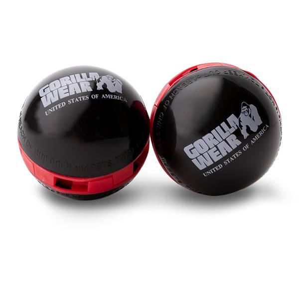 Bilde av Gorilla Wear - Multifunctional Deodorizer Balls - Black/Red