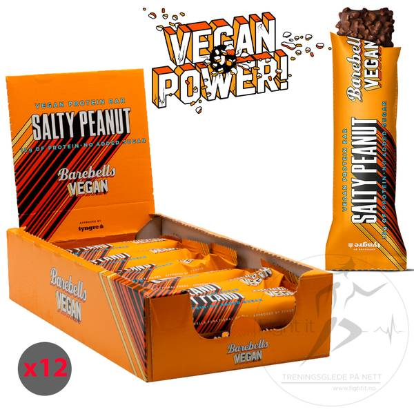 Bilde av Barebells - Vegan Proteinbar - Salty Peanut 55g