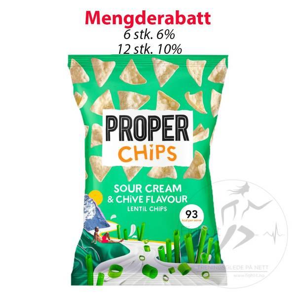 Bilde av ProperChips - Sour Cream & Chive Flavour 20g