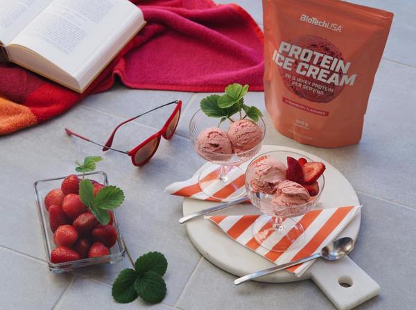 Bilde av BiotechUSA - Protein Ice Cream Chocolate 500g