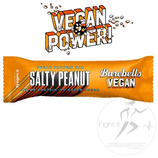 Bilde av Barebells - Vegan Proteinbar - Salty Peanut (12x55g)