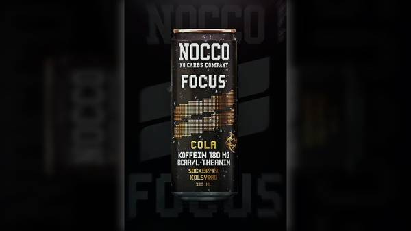 Bilde av Nocco BCAA - Focus Cola (24x330ml)