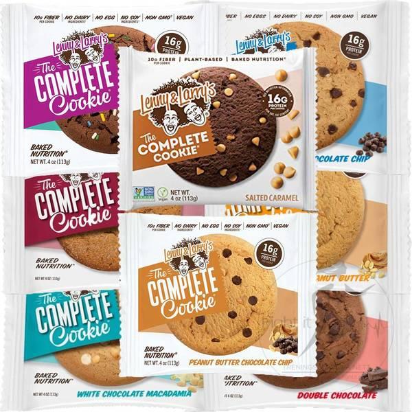 Bilde av Lenny & Larry`s Complete Cookies - Smakspakken (8x113g)