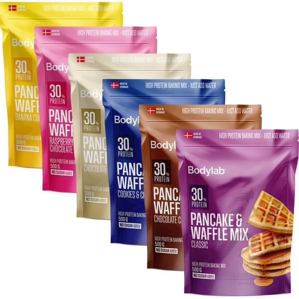 Bilde av Bodylab Pancake & Waffle Mix - Chocolate Chip Black Edition 1kg