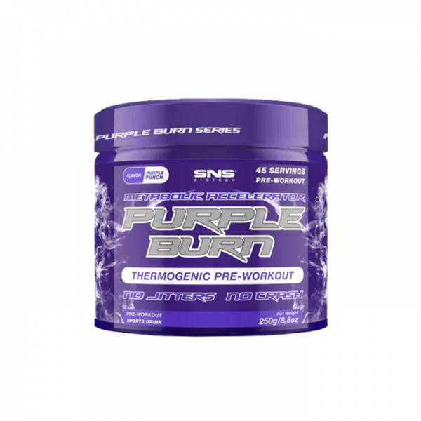 Bilde av SNS - Purple Burn PWO 250g