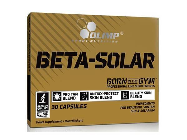 Bilde av Olimp - Beta-Solar 30 kapsler