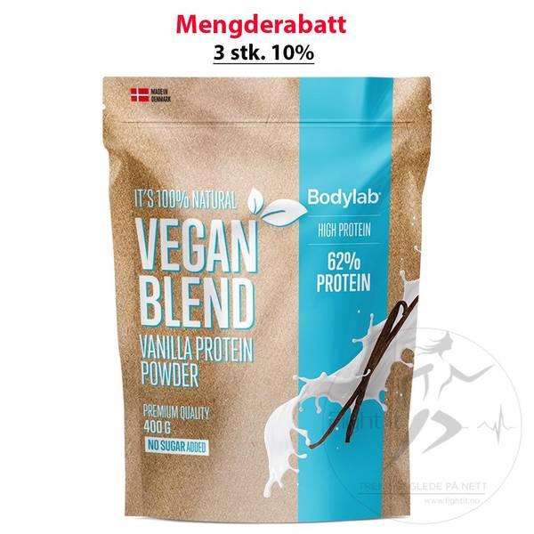 Bilde av Bodylab Vegan Protein Blend - Vanilla 400g