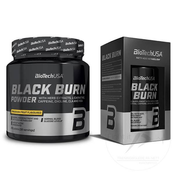 Bilde av BiotechUSA - Black Burn Powder - Passion Fruit 210g