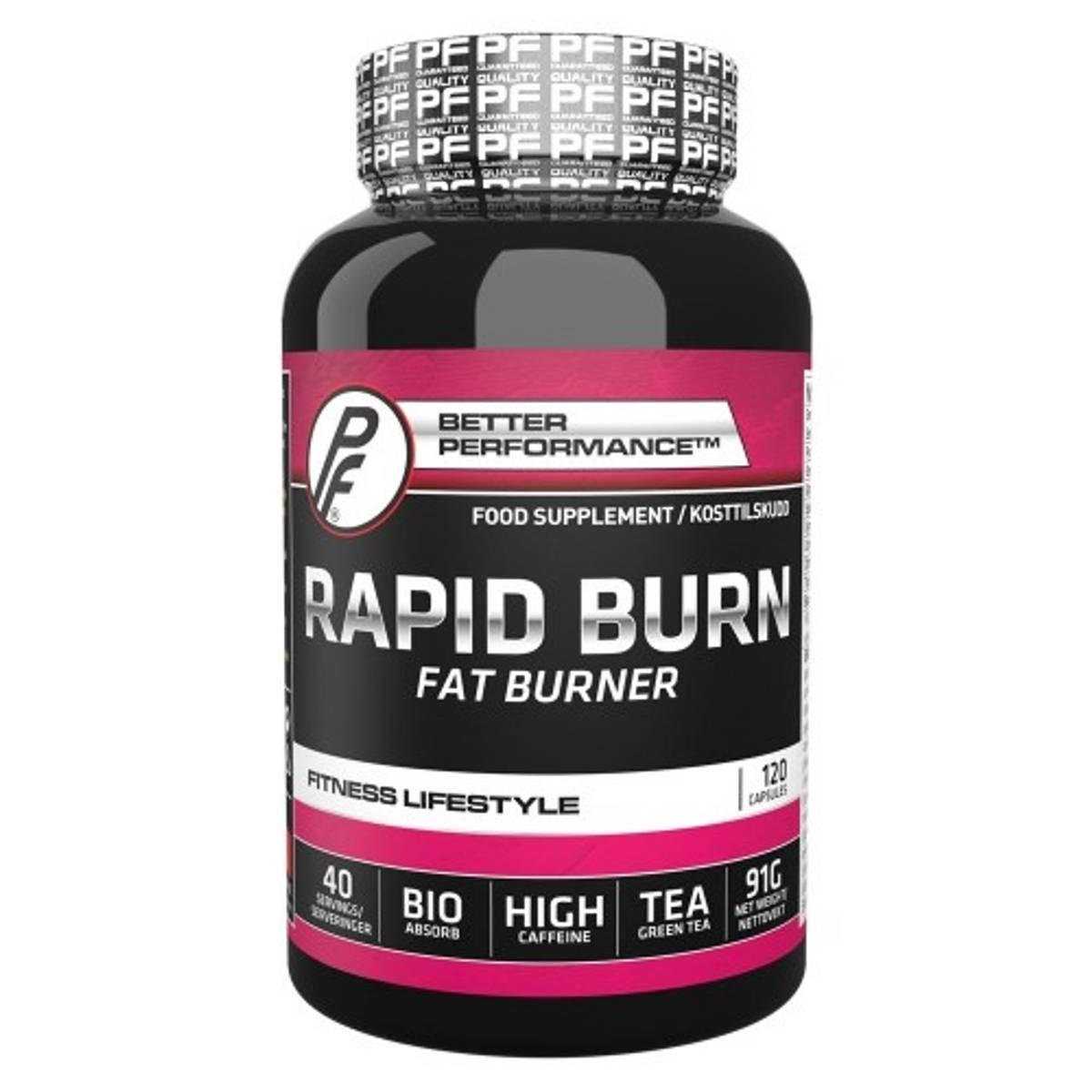 PF - Rapid Burn 120 kapsler