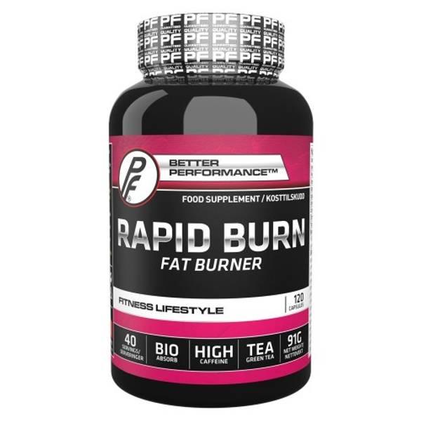 Bilde av PF - Rapid Burn 120 kapsler