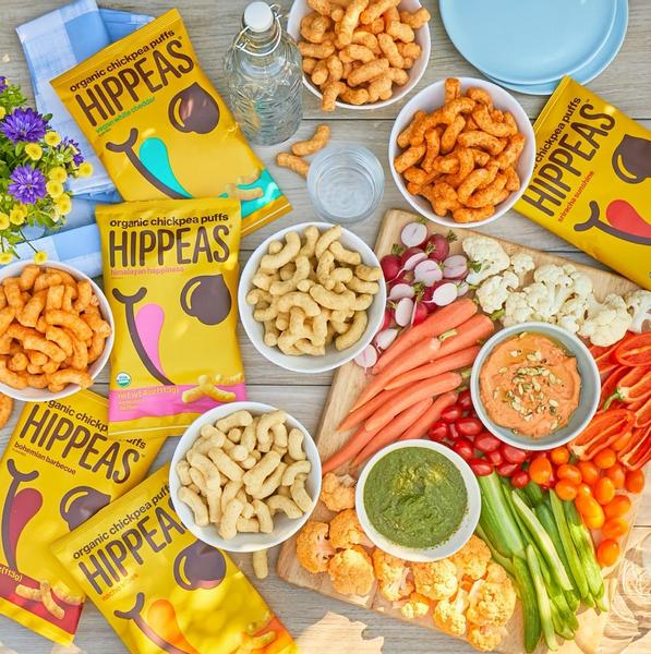 Bilde av Hippeas - Take It Cheesy Chickpea Puff Snack 22g