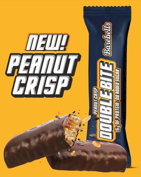 Bilde av Barebells - Double Bite Peanut Crisp 55g