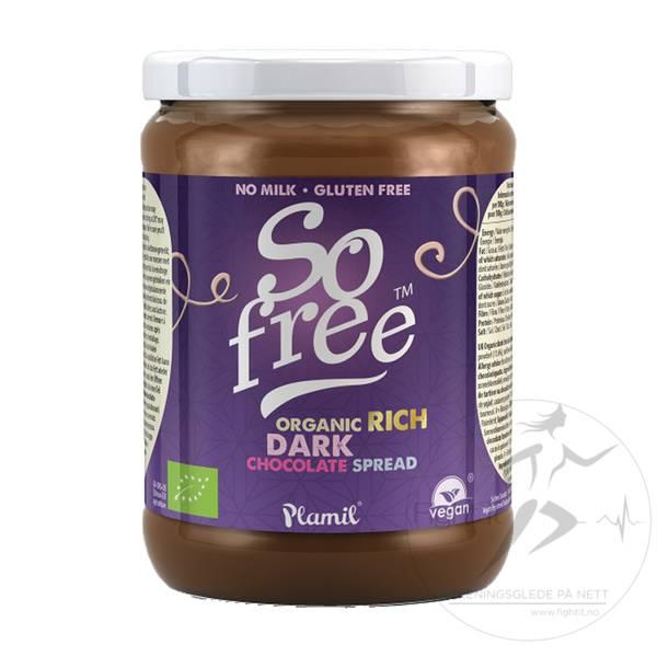 Bilde av Plamil - So Free Sjokoladepålegg - Rich Dark Chocolate (3x275g)