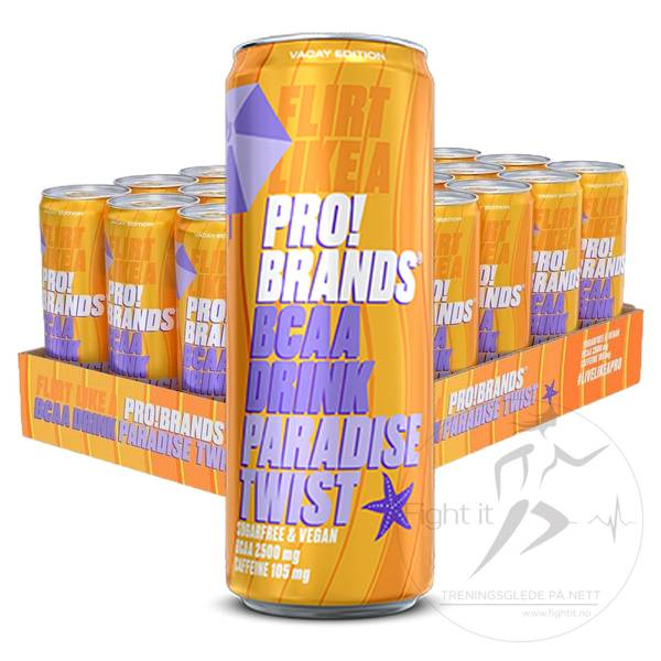 Bilde av Pro!Brand -  BCAA Paradise Twist 330ml