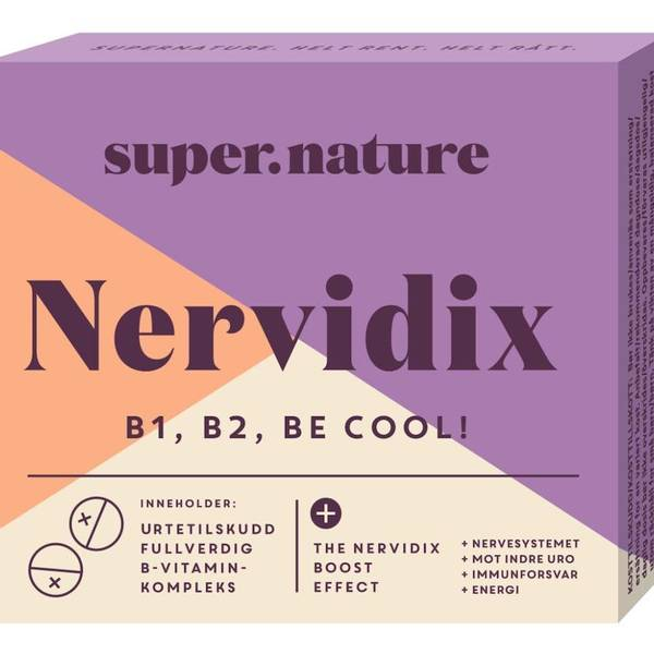 Bilde av Super.Nature - Nervidix 48 tabletter