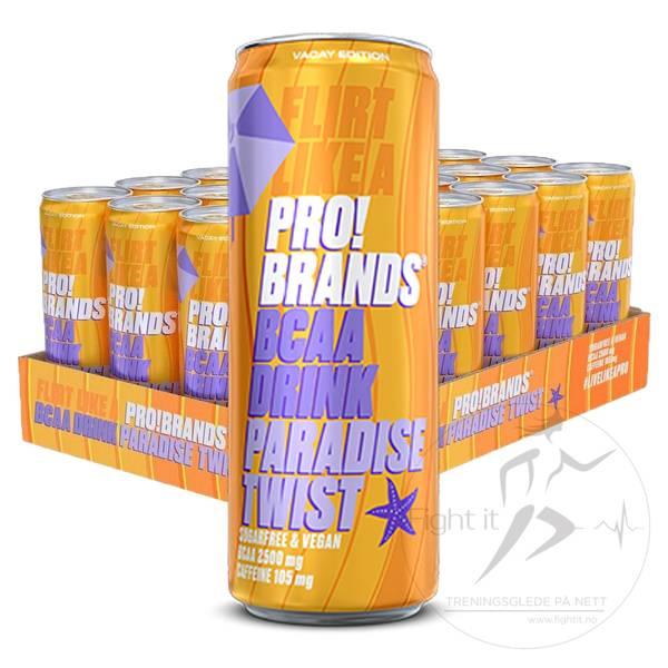 Bilde av Pro!Brand - BCAA Paradise Twist (24x330ml)