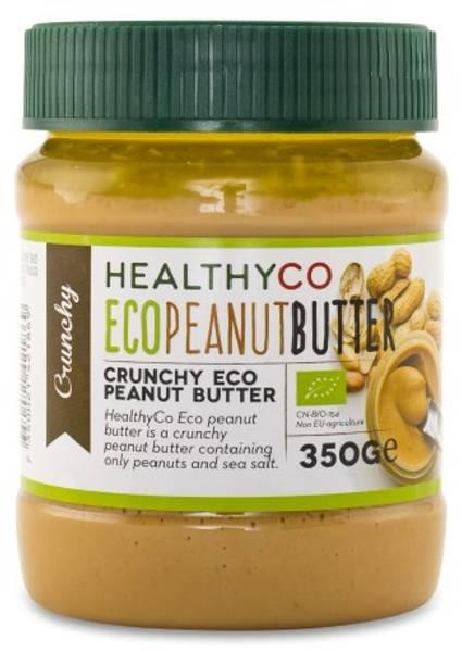 Bilde av HealthyCo - ECO Peanut Butter Crunchy 350g