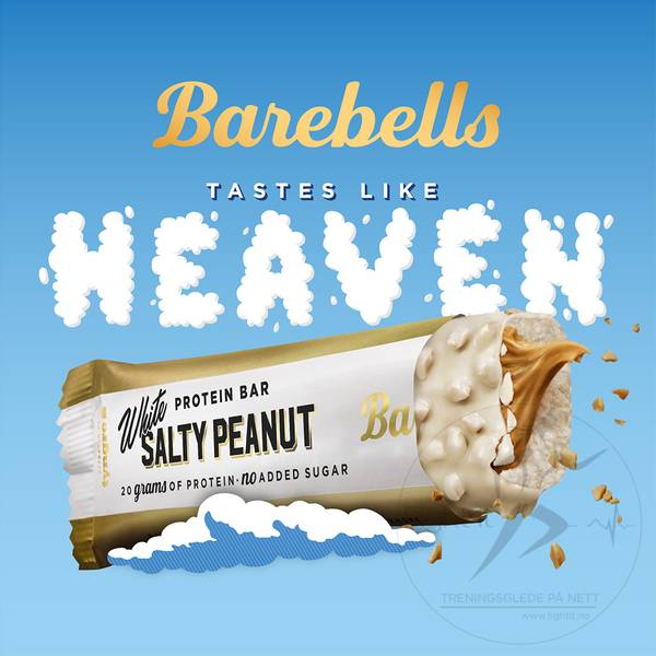 Bilde av Barebells - White Salty Peanut 55g