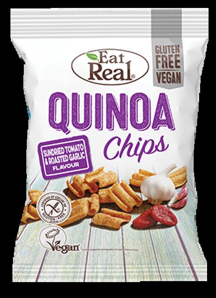 Bilde av Eat Real - Hummus Chips - Tomato & Basil 25g