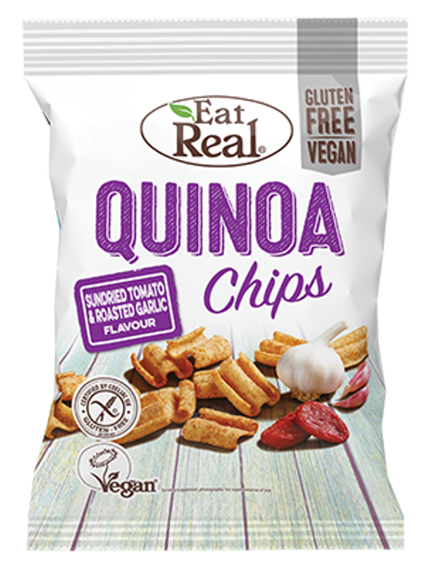 Eat Real - Quinoa Chips - Sour Cream & Chives 22g
