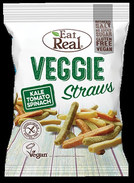 Bilde av Eat Real - Veggie Straws - Kale Tomato Spinach 22g