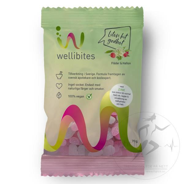 Bilde av Wellibites - Elderberries & Raspberries 70g