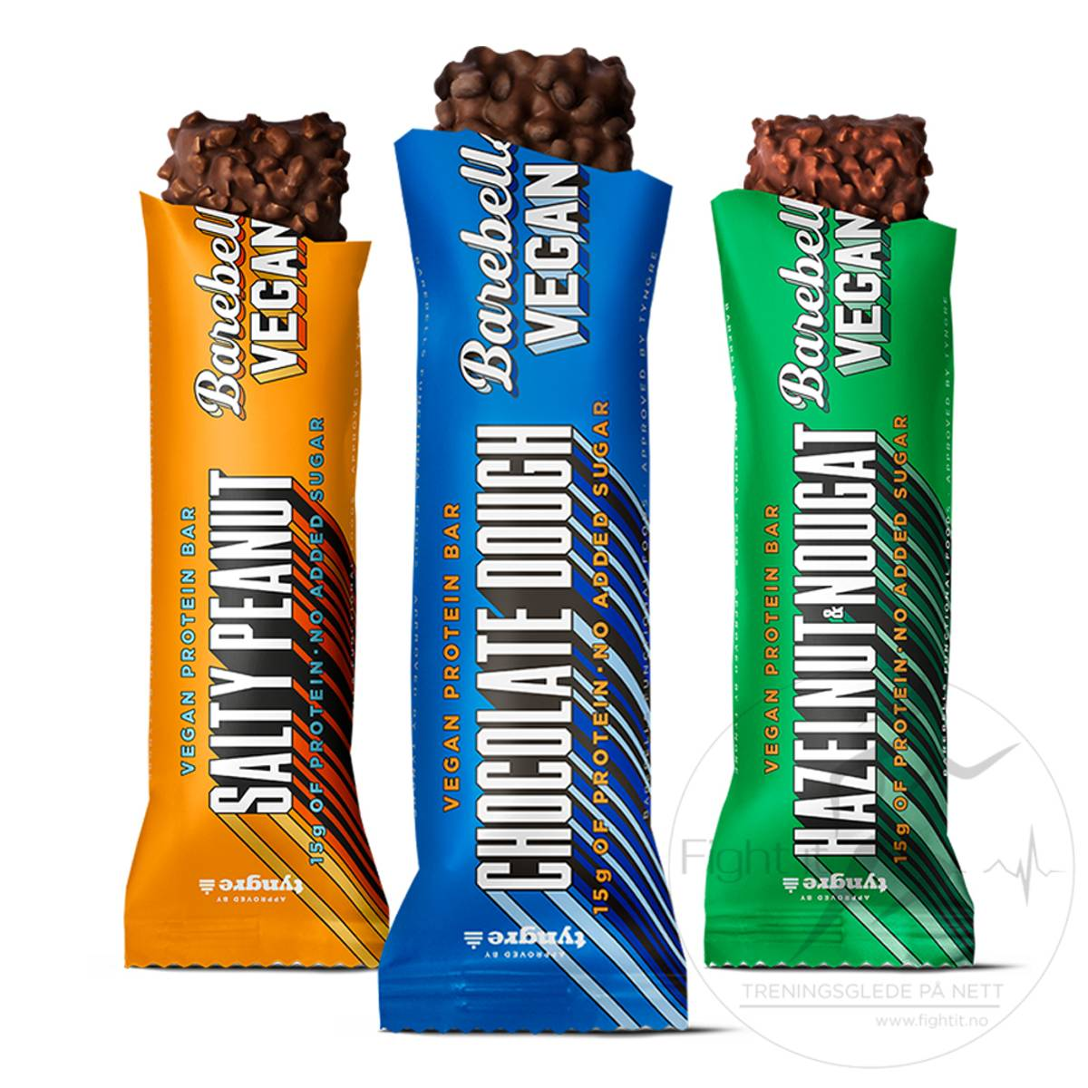 Barebells - Vegan Proteinbar - Chocolate Dough 55g