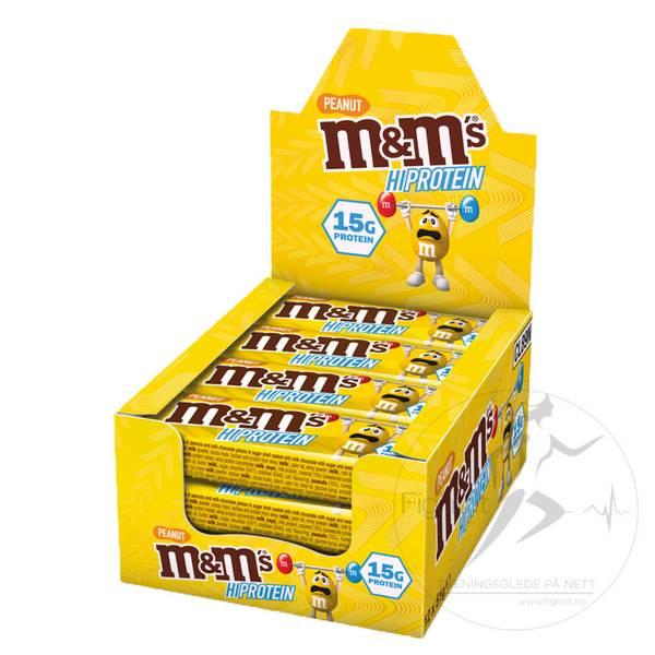 Bilde av M&M HI Protein - Chocolate 51g