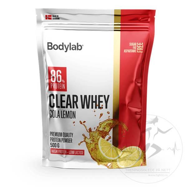 Bilde av Bodylab - Clear Whey - Cola Lemon 500g