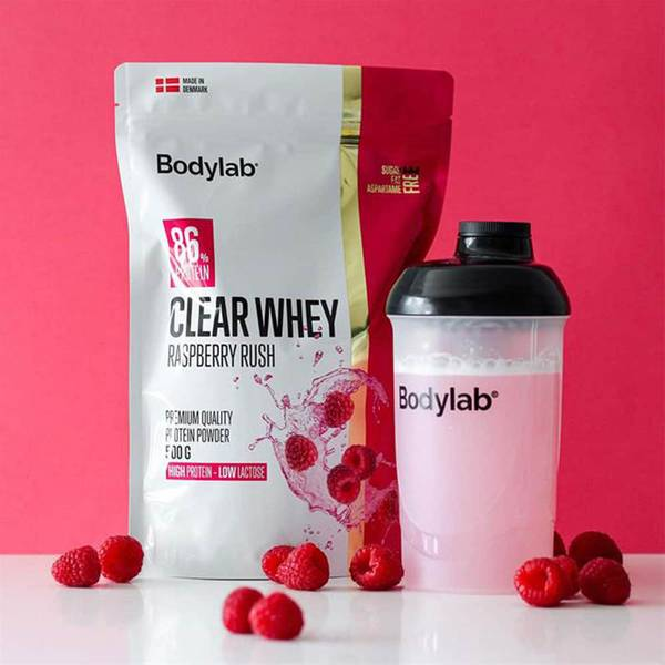 Bilde av Bodylab - Clear Whey - Raspberry Rush 500g