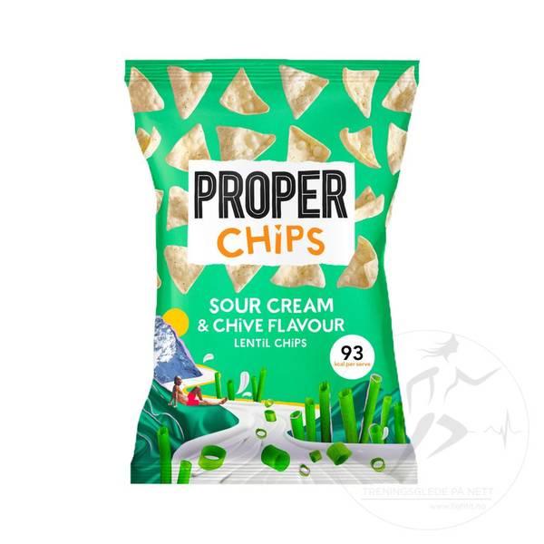 Bilde av ProperChips - Sour Cream & Chive Flavour 20g (Datovare)