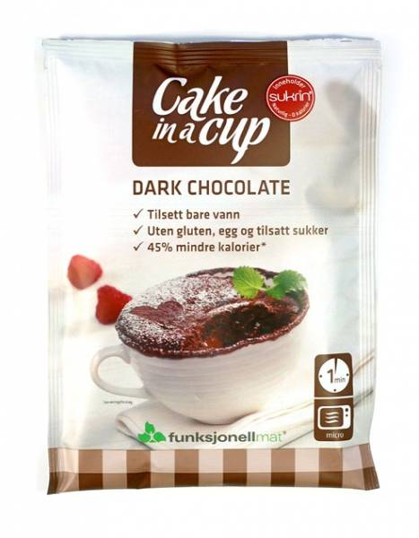 Bilde av Cake In A Cup - Chocolate (10x75g)
