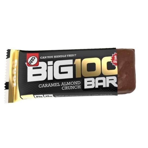Bilde av PF - Big 100 Proteinbar - Caramel Almond Crunch (15x100g)